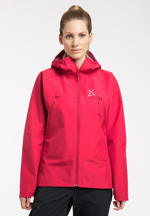 SPIRA - Hardshell jacket - scarlet red