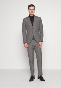 Isaac Dewhirst - RECYCLED MID TEXTURE - Oblek - grey - 0