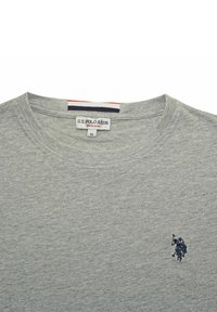 U.S. Polo Assn. - MIT RUNDHALSAUSSCHNITT R-NECK - Long sleeved top - grau - 3