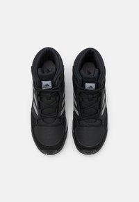 adidas Performance - TERREX HYPERHIKER TRAXION HIKING SHOES UNISEX - Trekingové boty - core black/grey three - 3