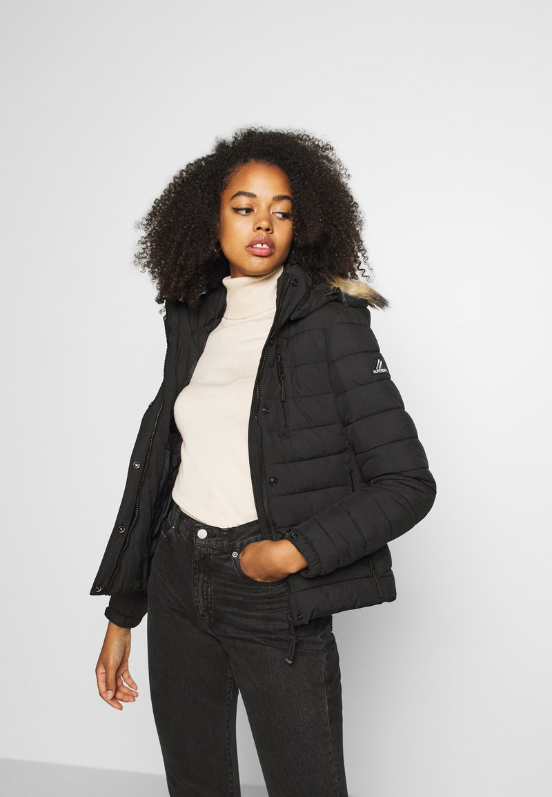 Superdry - CLASSIC FUJI JACKET - Winter jacket - black