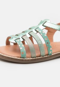 Friboo - LEATHER - Sandals - mint - 5