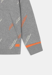 Automobili Lamborghini Kidswear - ALLOVER LOGOSCRIPT HOODIE - Sweatshirt - grey antares - 2