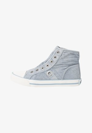 Sneaker high - lt blue