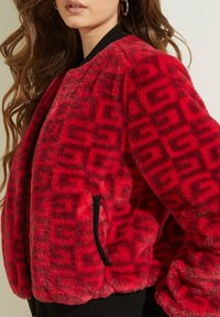 Guess - Bomber Jacket - rot/merf. - 3