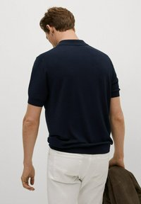 Mango - Polo shirt - marineblauw - 2