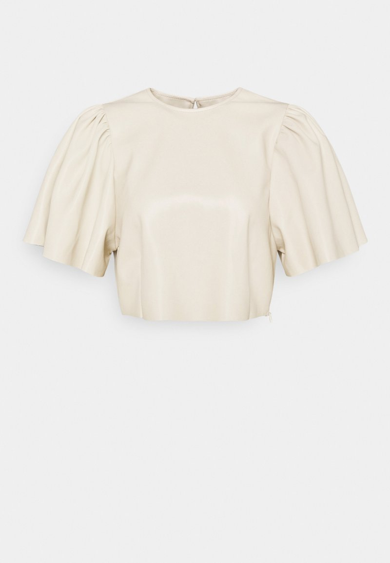 Nly by Nelly - BUTTERFLY SLEEVE - Blouse - beige