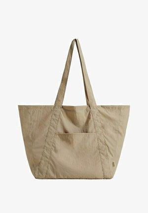 Shopper - marron clair/pastel