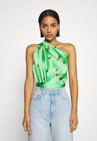 Never Fully Dressed - SUMMER RAINBOW JASPRE - Wrap skirt - green - 5
