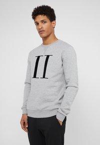 Les Deux - ENCORE - Sweatshirts - grey melange / black - 0