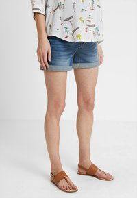 Forever Fit - EXCLUSIVE - Shorts di jeans - blue - 0