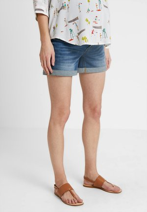 ROLL UP - Shorts vaqueros - blue