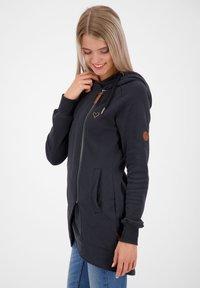 alife & kickin - Zip-up hoodie - moonless - 3