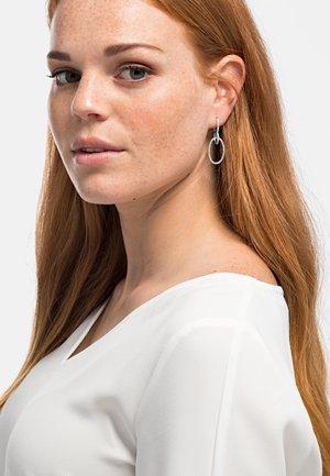 ZILLA POLIERT - Earrings - silberfarben poliert
