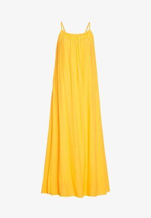 MIJA DRESS STRAPS VOLUME SKIRT PART - Maxi dress - bright orange