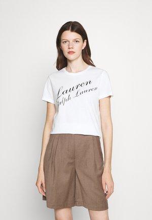 KATLIN SHORT SLEEVE - T-shirt con stampa - white