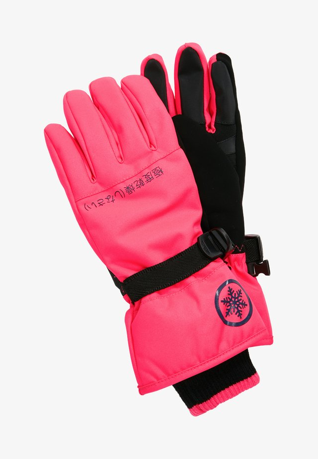 ULTIMATE SNOW SERVICE GLOVE - Guantes - acid pink