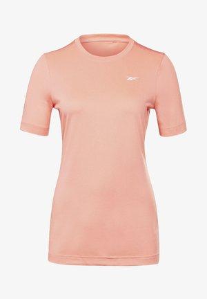 WORKOUT READY SUPREMIUM TEE - T-shirt basic - red