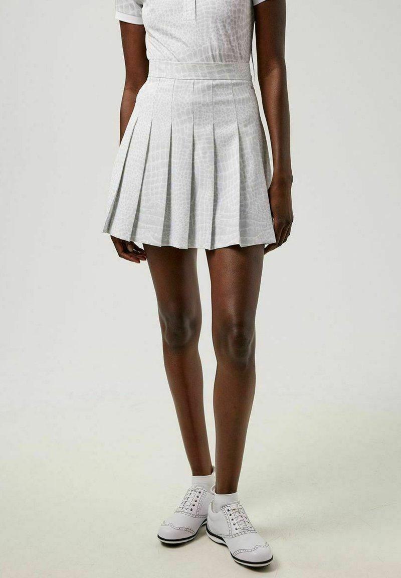 J.LINDEBERG - Sports skirt - micro chip croco