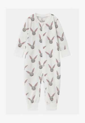 RABBIT FACES UNISEX - Pyžamo - light dusty white