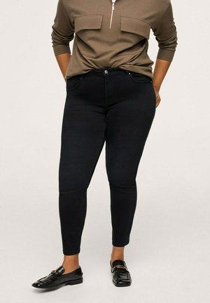 PUSHUP - Jeans Skinny Fit - black denim