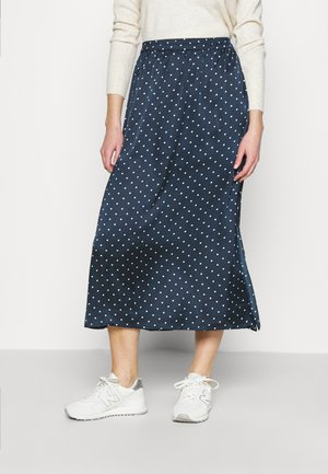 JDYDOTTIE SKIRT - Maxi skirt - night sky/cloud dancer
