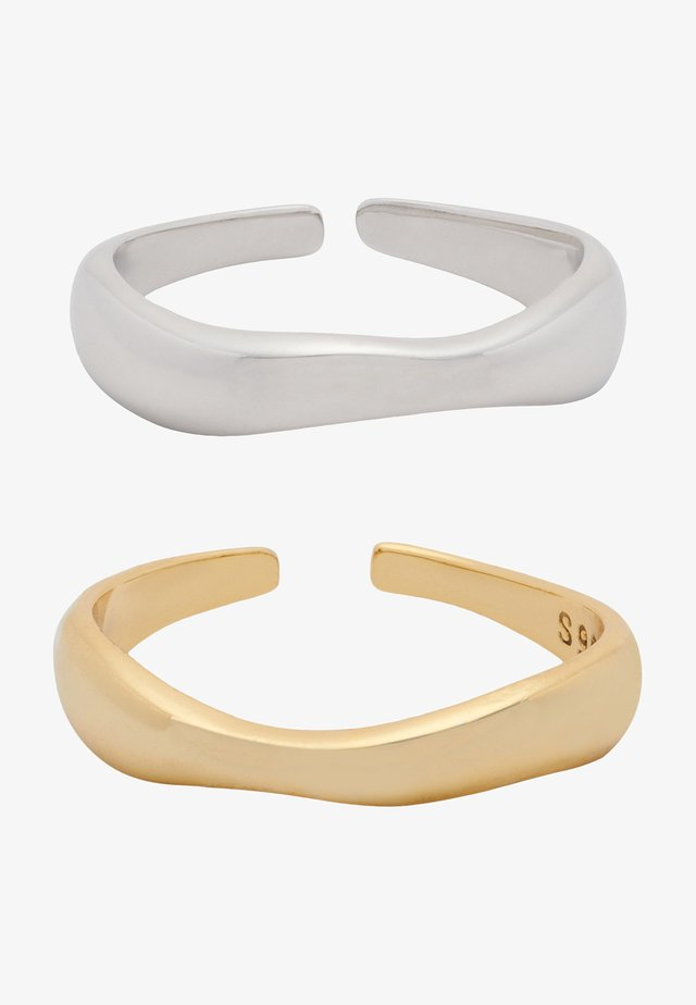 2 PACK - Bague - silber gold