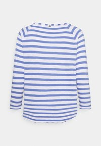 Rich & Royal - HEAVY STRIPED - Long sleeved top - sky blue - 1
