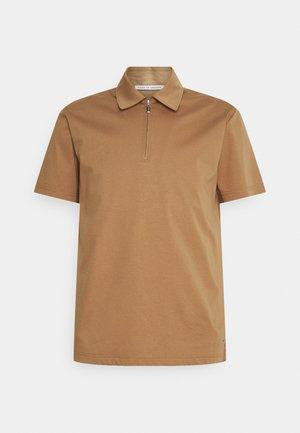 LARON - Polo - tobacco brown