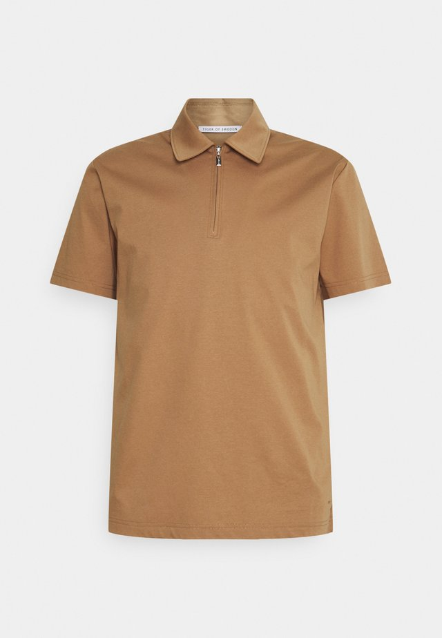 LARON - Poloshirt - tobacco brown