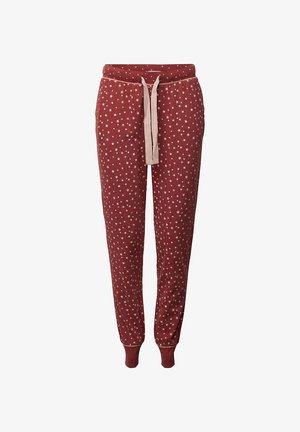 Pyjama bottoms - dark red