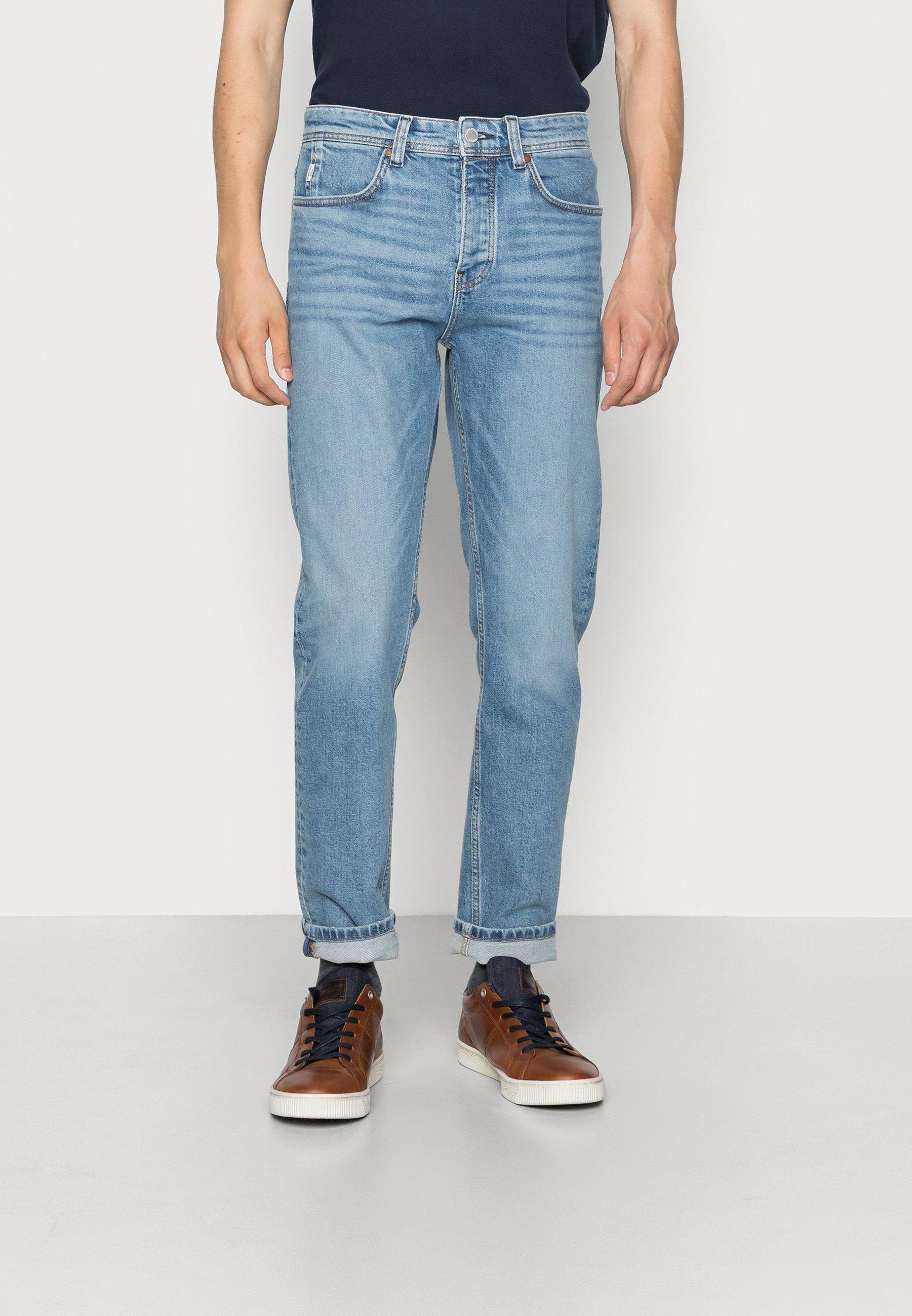 Uomo 5 POCKET SLIM FIT TAPERED LEG REGULAR WAIST COVERED - Jeans slim fit