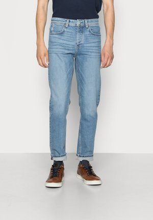 5 POCKET SLIM FIT TAPERED LEG REGULAR WAIST COVERED - Slim fit jeans - vintage light blue