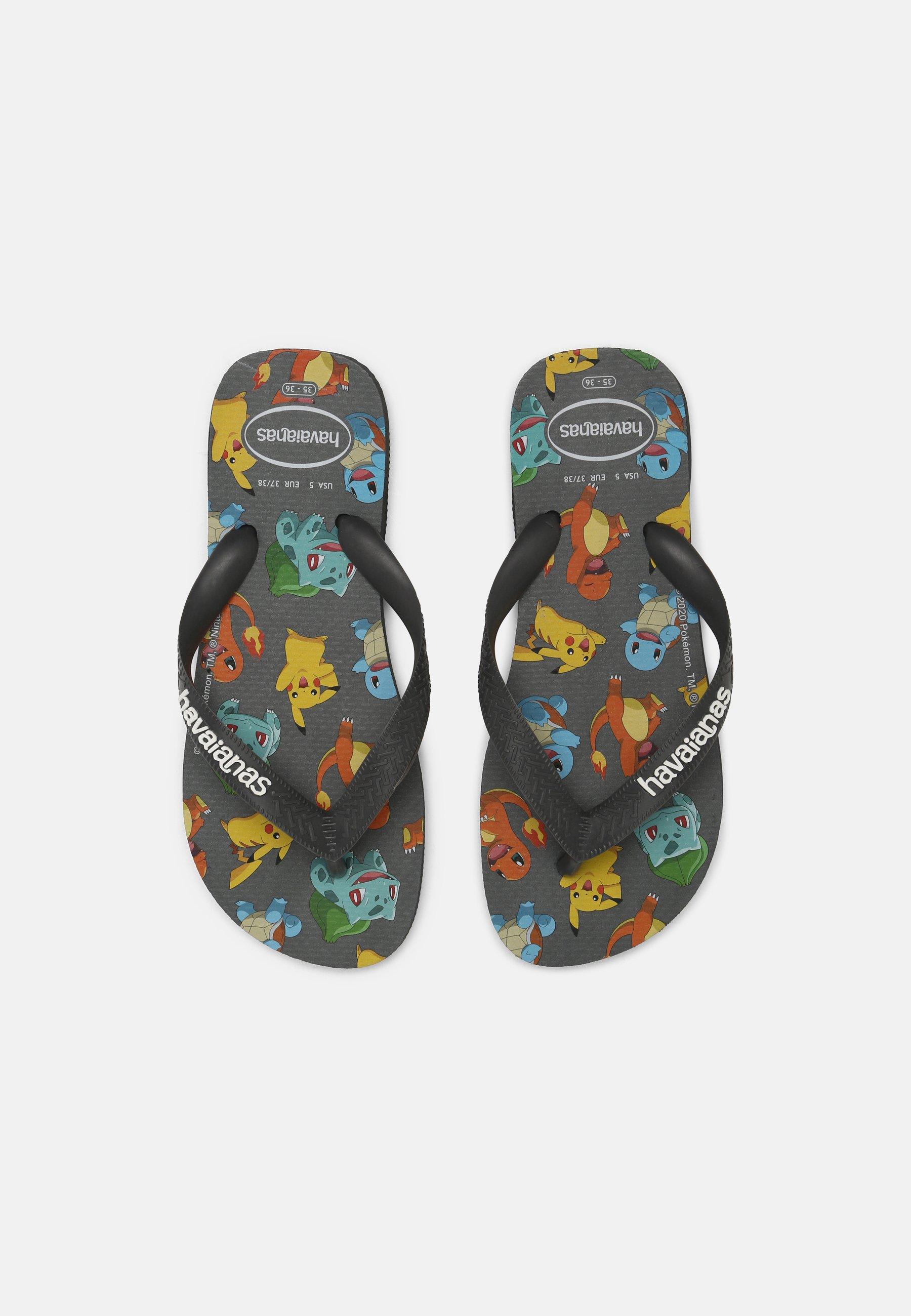Men POKEMON UNISEX - T-bar sandals