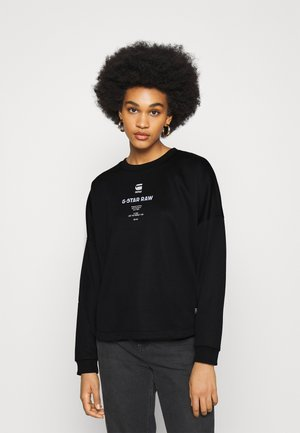 MULTI GR RELAXED R SW WMN L\S - Sweatshirt - black
