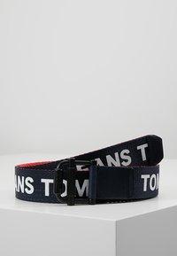Tommy Jeans - ROLLER WEBBING BELT  - Belt - blue - 0
