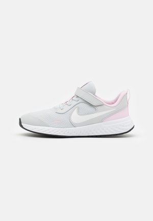 REVOLUTION 5 UNISEX - Neutral running shoes - photon dust/white/pink foam