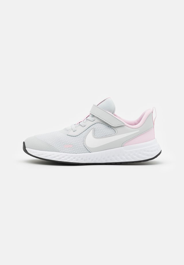 REVOLUTION 5 UNISEX - Neutral running shoes - photon dust/white/pink foam