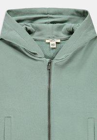 Esprit - Zip-up hoodie - khaki green - 2