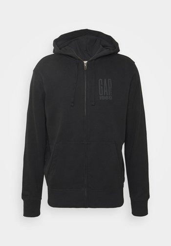 Zip-up hoodie - moonless night