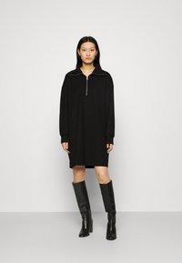 ARKET - DRESS - Jerseykjole - black - 0