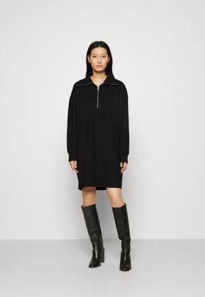 DRESS - Jerseykleid - black