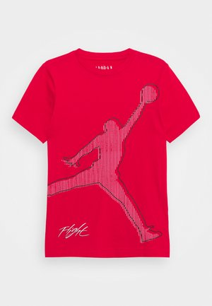 JUMPMAN CITYTEE - Printtipaita - gym red