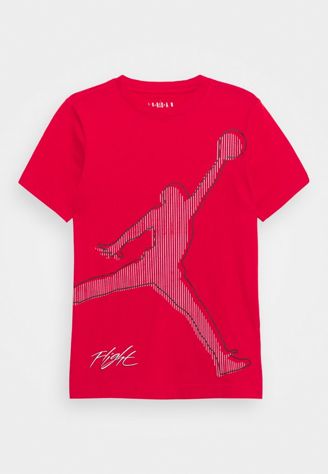 JUMPMAN CITYTEE - Camiseta estampada - gym red