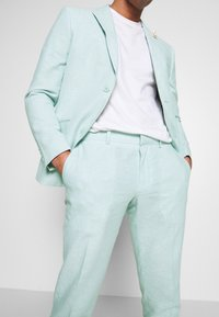 Isaac Dewhirst - PLAIN WEDDING - Oblek - mint - 6