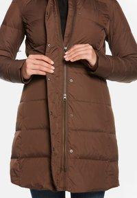 Jeff Green - FELY - Down coat - mocha - 7