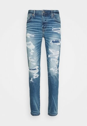 MEDIUM MENDED SKINNY - Jeans slim fit - medium destroy