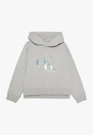 SEASONAL MONOGRAM HOODIE - Hoodie - grey