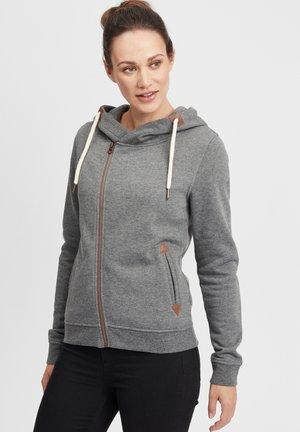 VICKY - Zip-up hoodie - grey mel