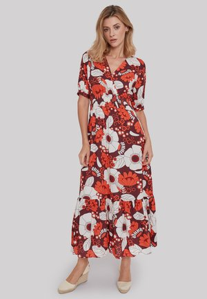 BOOGALOO PARTY - Maxi dress - red